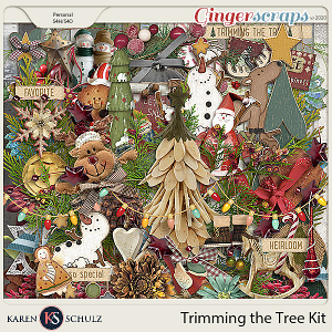 Trimming the Tree Kit by Karen Schulz
