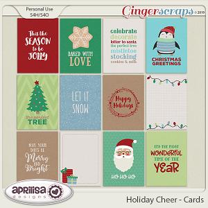 Holiday Cheer - Cards by Aprilisa Designs