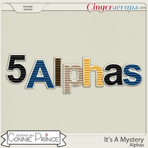 It's A Mystery - Alpha Pack AddOn by Connie Prince