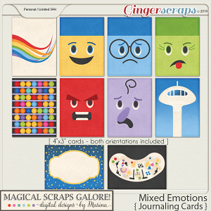 Mixed Emotions (journaling cards)