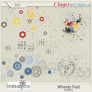 Wheely Fast Scatterz by Lindsay Jane
