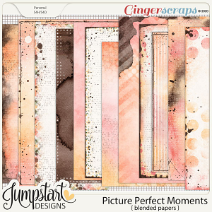 Picture Perfect Moments {Blended Papers}