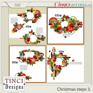 Christmas steps 3.