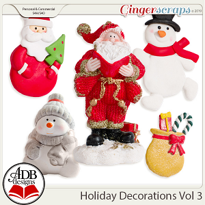 Holiday Decorations Vol 3 by ADB Designs