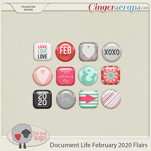 Document Life February 2020 Flairs by Luv Ewe Designs