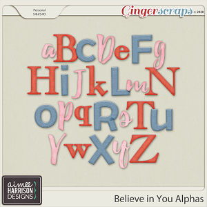 Believe in You Alpha Sets by Aimee Harrison