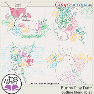 Bunny Play Date Blendables by ADB Designs