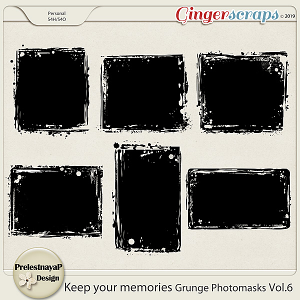 Keep your memories Grunge Photomasks Vol.6