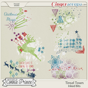 Tinsel Town - Inked Bits