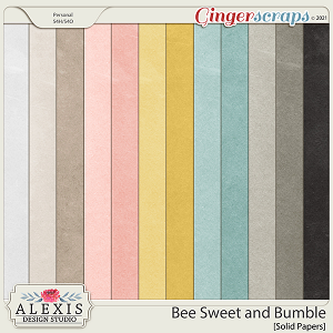 Bee Sweet and Bumble - Solids