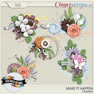 Make it Happen - Clusters by Lisa Rosa Designs