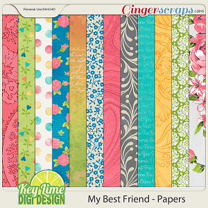 My Best Friend Paper Pack