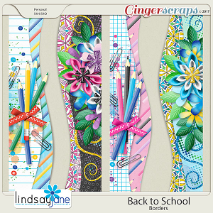 Back to School Borders by Lindsay Jane