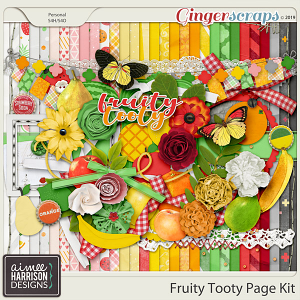 Fruity Tooty Page Kit by Aimee Harrison