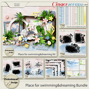 Place for swimming&dreaming Bundle