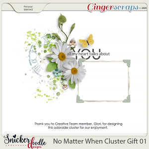 No Matter When Cluster Gift 01 by Snickerdoodle Designs