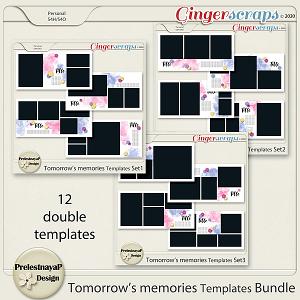 Tomorrow's memories templates Bundle
