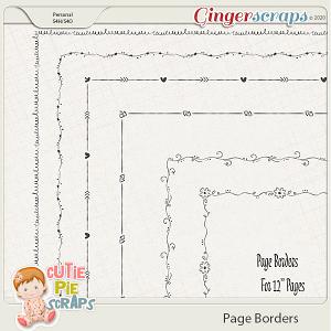 Page Borders 09 By Cutie Pie Scraps