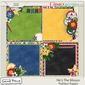 He's The Mouse - PreDeco Papers