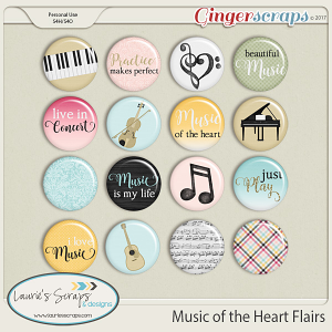 Music of the Heart Flairs