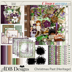 Christmas Past Bundle by ADB Designs