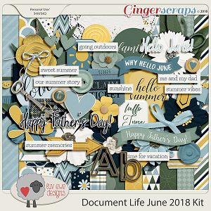 Document Life June 2018 Kit by Luv Ewe Designs