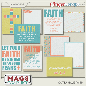 Faith365 Gotta Have Faith JOURNAL CARDS