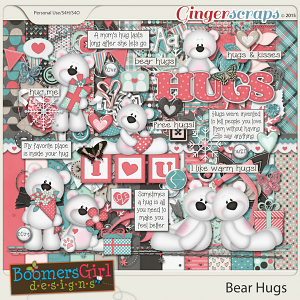 Bear Hugs by BoomersGirl Designs