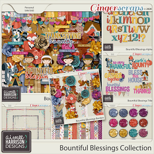 Bountiful Blessings Collection by Aimee Harrison