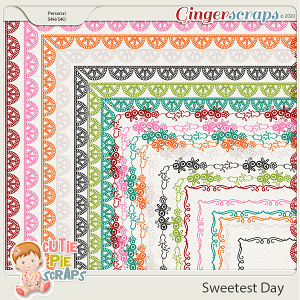 Sweetest Day-Page Borders