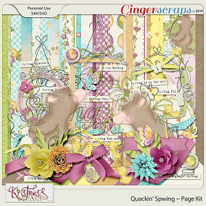 Quackin' Spwing Page Kit