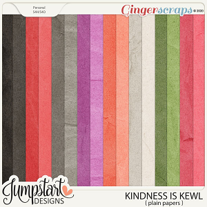 Kindness Is Kewl {Plain Papers} by Jumpstart Designs