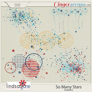 So Many Stars Scatterz by Lindsay Jane
