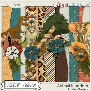 Animal Kingdom - Borders by Connie Prince