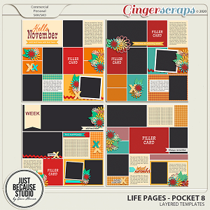 Life Pages Pocket 8 by JB Studio
