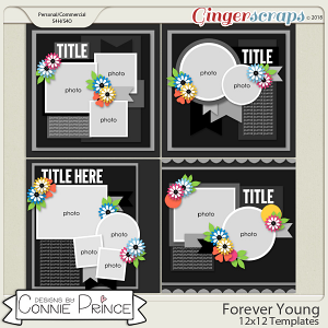 Forever Young - 12x12 Temps (CU Ok) by Connie Prince