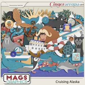 Cruising Alaska ELEMENTS by MagsGraphics