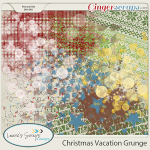 Christmas Vacation Grunge
