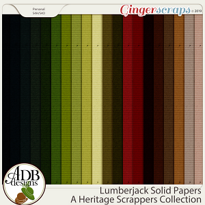 Lumberjack Solid Papers by ADB Designs