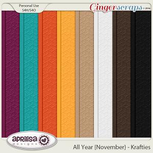 All Year {November} - Krafties