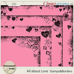 All about Love Stamps & Borders