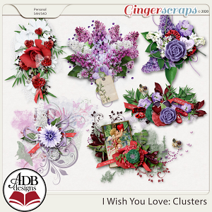 I Wish You Love Clusters by ADB Designs