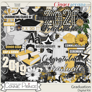 Graduation - Kit by Connie Prince