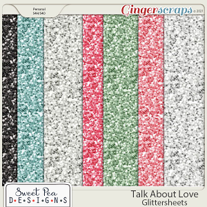 Talk About Love Glittersheets
