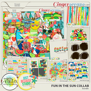 Fun In The Sun Bundle by JB Studio and Neia Scraps