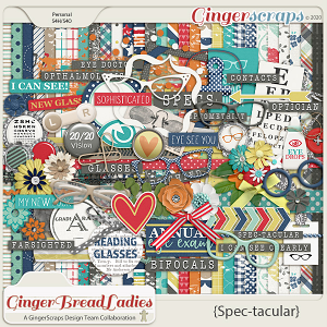 GingerBread Ladies Monthly Mix: Spec-tacular