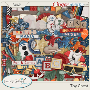 Toy Chest Page Kit