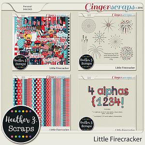 Little Firecracker BUNDLE by Heather Z Scraps