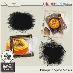 Pumpkin Spice Masks by Aimee Harrison and JB Studio