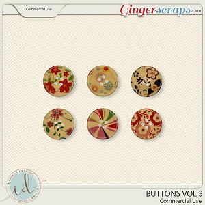 CU Buttons Vol 3 by Ilonka's Designs